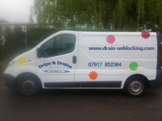 drips-and-drains-van Blocked Drains Crawley Horley Redhill Reigate East Grinstead